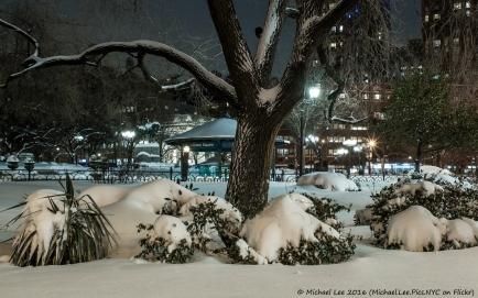 Undisturbed Snow