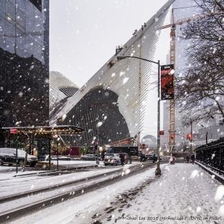 2/21/15 - Fulton Street snowy view