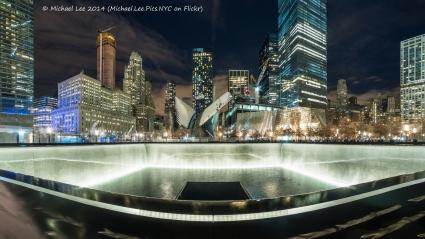 12/13/14 - 9/11 Memorial fisheye view