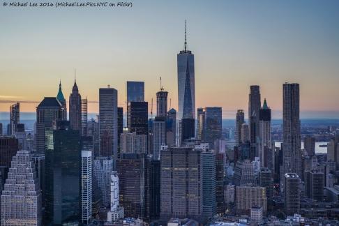 Lower Manhattan Flyby