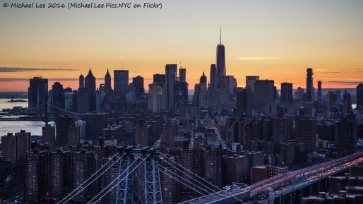 Lower East Side Sunset