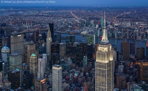 Classic New York Twilight