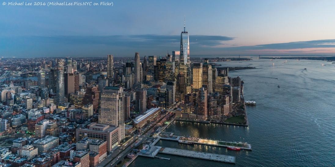 Lower Manhattan Twilight