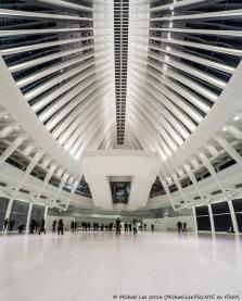 Fisheye WTC Transportation Hub
