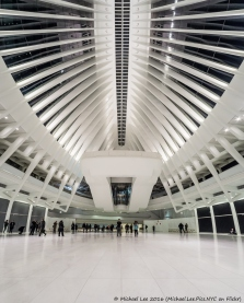 Fisheye WTC Transportation Hub