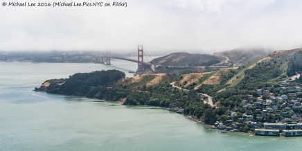 Sausalito and Golden Gate Bridge