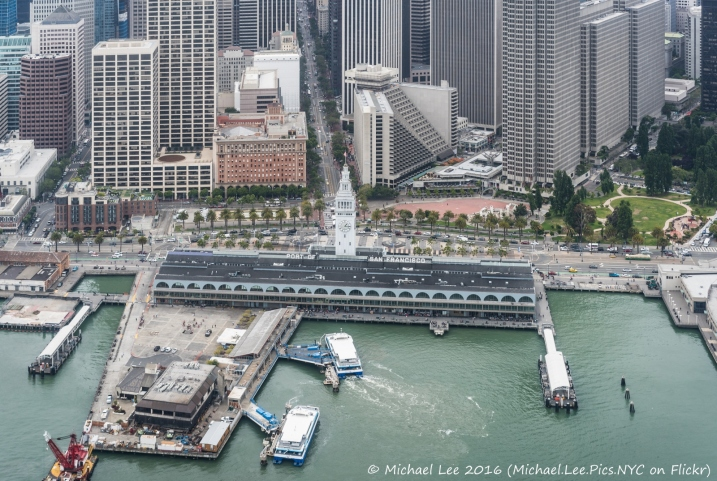 Ferry Building and Embarcadero