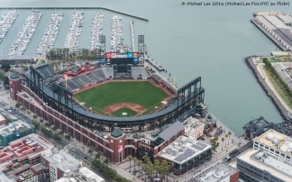 AT&T Park and McCovey Cove