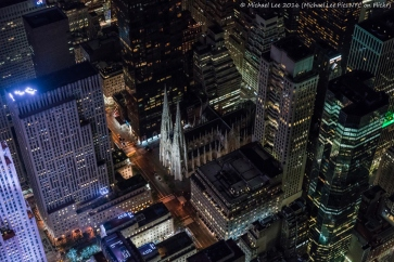 St Patrick's Cathedral and Rockefeller Center