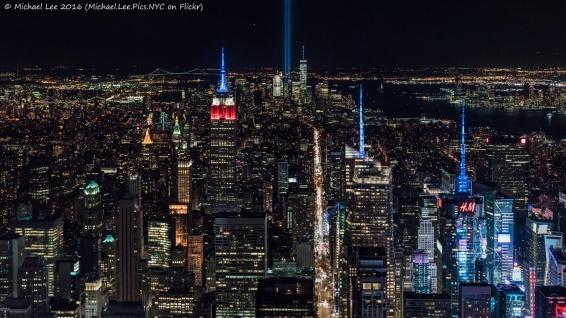 View from Midtown Manhattan