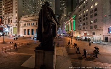 Federal Hall and NYSE