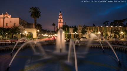 Plaza de Panama Fountain