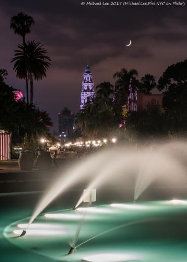 Bea Evenson Fountain and California Building