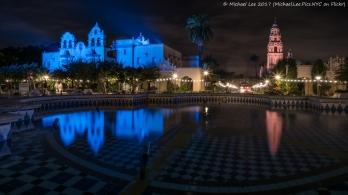 Plaza de Panama Fountain and Reflections