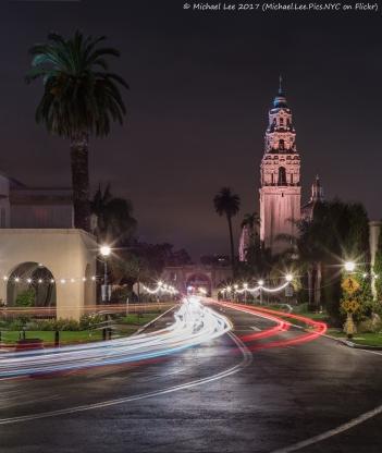 El Prado and California Building