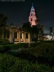 Alcazar Garden and California Building