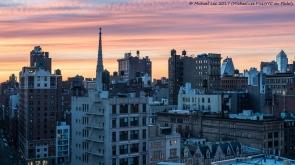 New York Sunset - April 2017