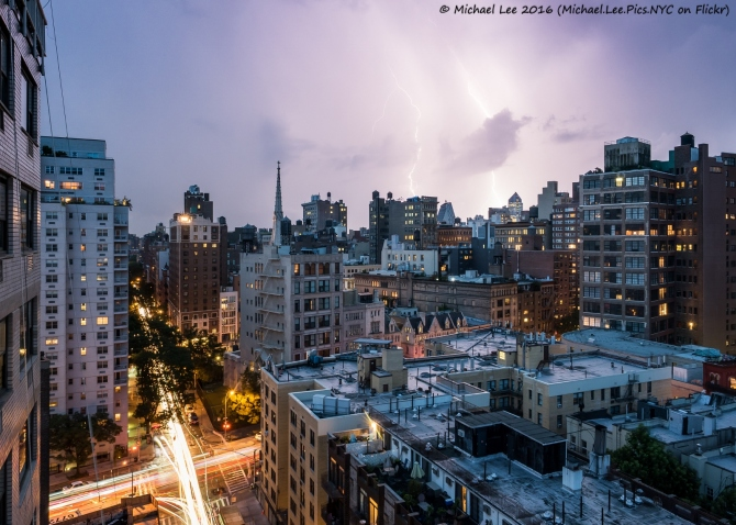 New York Lightning - August 2016