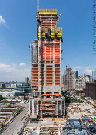 35 Hudson Yards viewed from 15 Hudson Yards