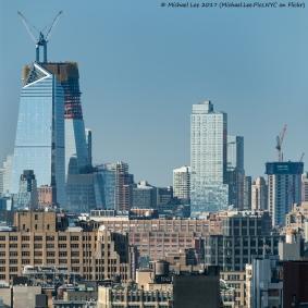 Hudson Yards and Manhattan West viewed from Lower Manhattan