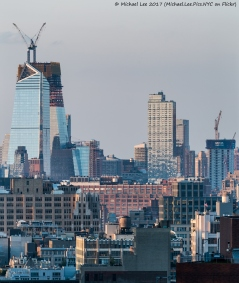 Hudson Yards and Manhattan West viewed from Lower Manhattan