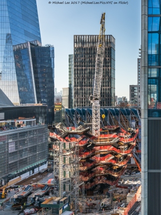 Vessel viewed from 55 Hudson Yards