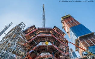 Vessel and 15 Hudson Yards