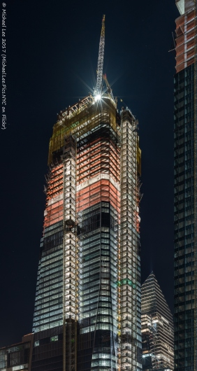 30 Hudson Yards viewed from 11th Avenue