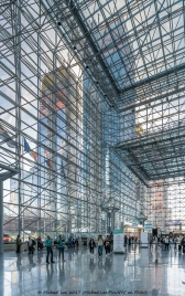 View from inside the Javits Convention Center