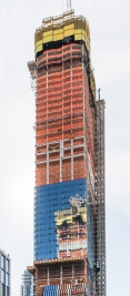 North facade of 15 Hudson Yards