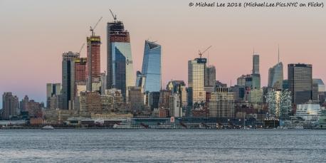 Sunset view from Hoboken, NJ