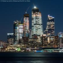 Night view from Hoboken, NJ