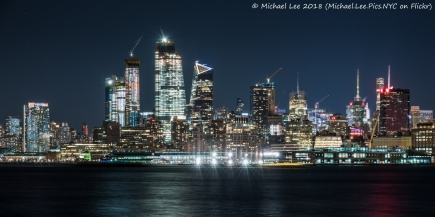 Night view from Hoboken, NJ