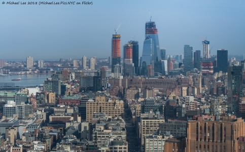 Telephoto view from World Trade Center