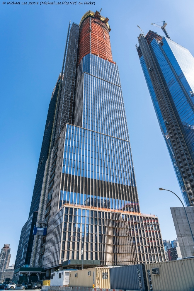 35 Hudson Yards viewed from 11th Avenue