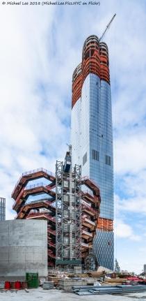 Vessel and 15 Hudson Yards