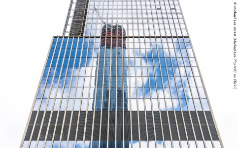 35 Hudson Yards viewed from Public Square and Gardens