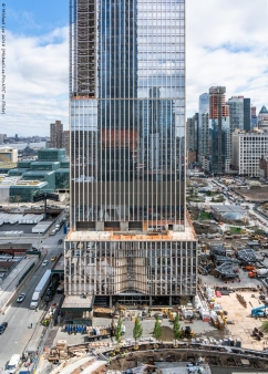 35 Hudson Yards viewed from 16th floor of 15 Hudson Yards
