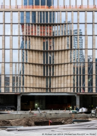 35 Hudson Yards south facade Dimple