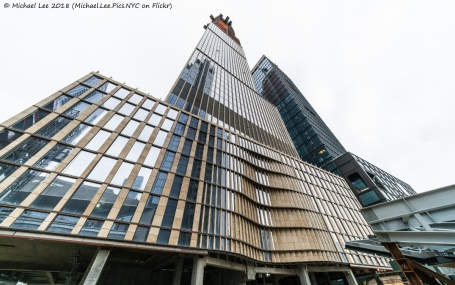Low angle view of 35 Hudson Yards