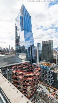 View from Level 15 terrace of 35 Hudson Yards