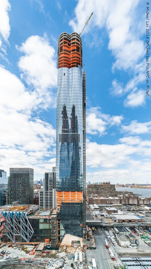 15 Hudson Yards viewed from Level 15 terrace of 35 Hudson Yards