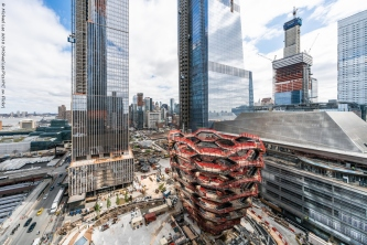 View from 16th floor of 15 Hudson Yards