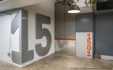 Building 77 elevator lobby