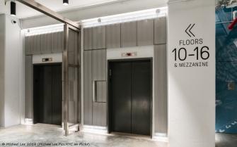 Building 77 - Elevator Lobby