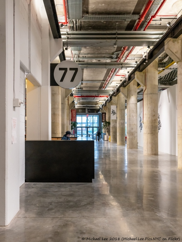 Building 77 - Street Lobby
