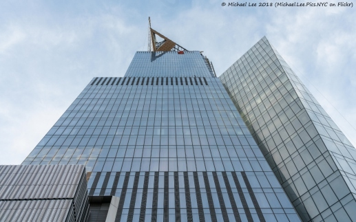30 Hudson Yards Observatory Level Construction