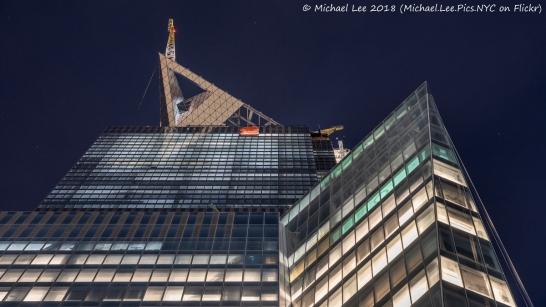 30 Hudson Yards Observatory Level Construction
