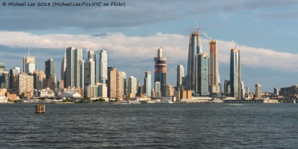 View from Weehawken waterfront