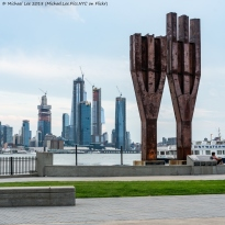 Hudson Riverfront 9/11 Memorial in Weehawken